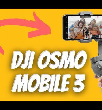 DJI Osmo mobile 3 opiniones y review